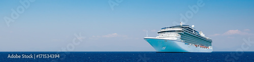 Cruise travel. Fototapet