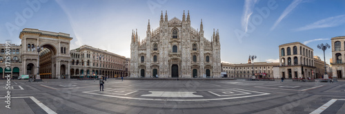 Fototapeta premium Milano City Wiews. Katedra