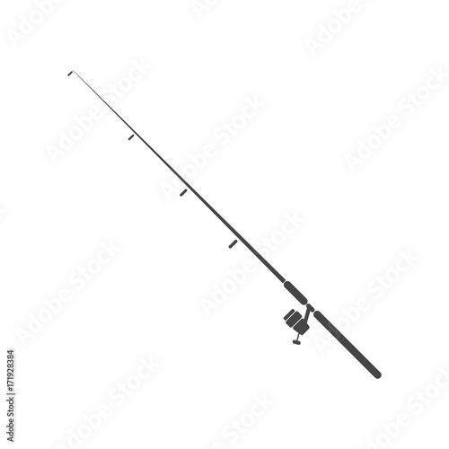 Fotografía Fishing rod - Illustration