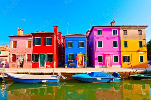 Fotografia Burano bei Venedig, Italien