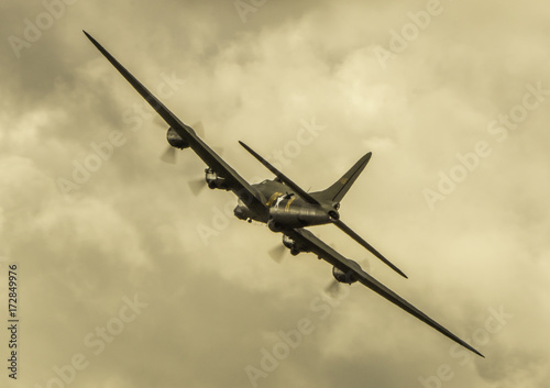Photographie B17 Flying Fortress