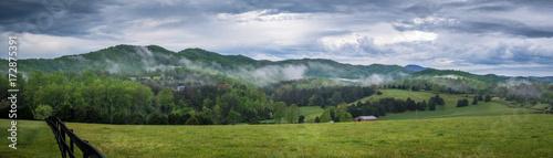 Fotografie, Tablou Appalachians rolling hills in Virginia