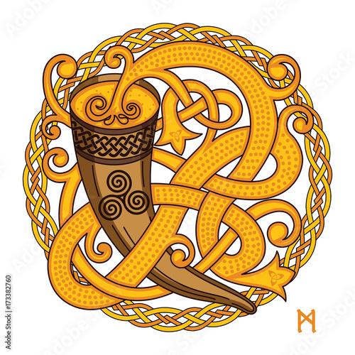 Fotografia Celtic, Scandinavian design