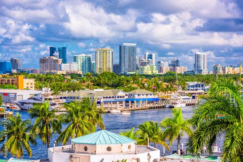 Fotografija Fort Lauderdale, Florida Skyline