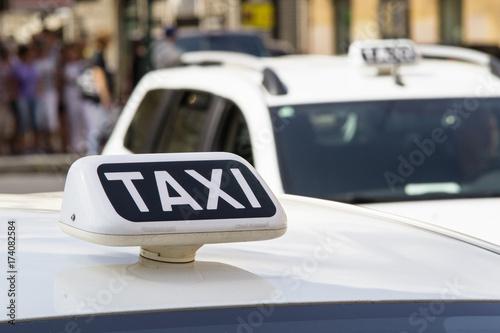 Fényképezés taxi a roma