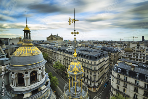 Canvas Grands Magasins Boulevard Haussmann Paris