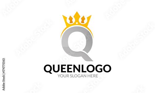Obraz na plátně Queen Logo