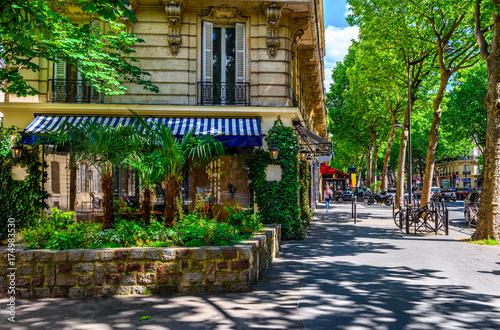 Photo Boulevard Saint-Germain in Paris, France