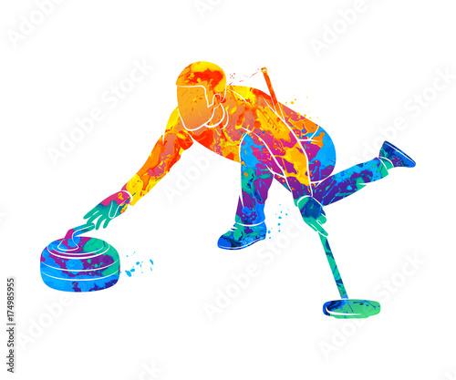 Fotografía Curling game sport