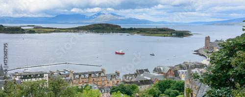 Fotografia Oban Bay from McCaig's Tower in Oban, Scotland
