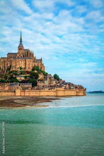 Canvas Print Mont-Saint-Michel Normandy France