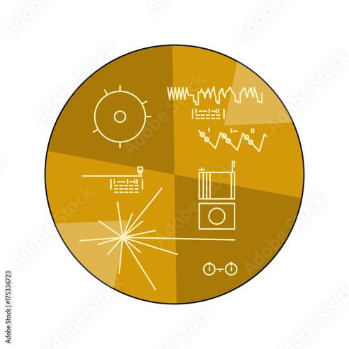 Fototapeta Space theme illustration