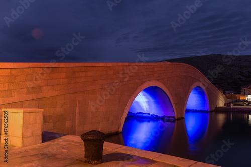 Ponte Pag, Croazia