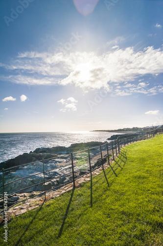 Fotografia, Obraz Spiaggia rocciosa irlandese