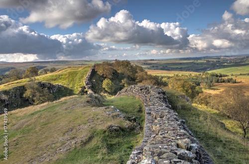 Canvas-taulu Walltown Crags - Hadrians Wall