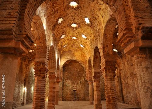 Fotografia Arab baths in Ronda, Spain