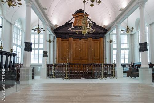 Wallpaper Mural Interior of The Tzedek ve-Shalom Synagogue