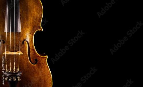 Fotografia close up of a violin