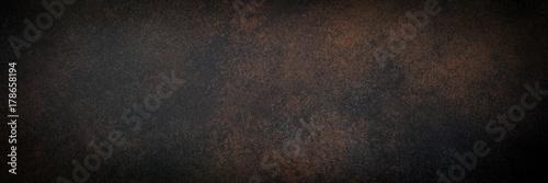 Pusty zardzewiały kamień lub tekstura powierzchni metalu.