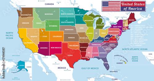 Canvas Print United States of America