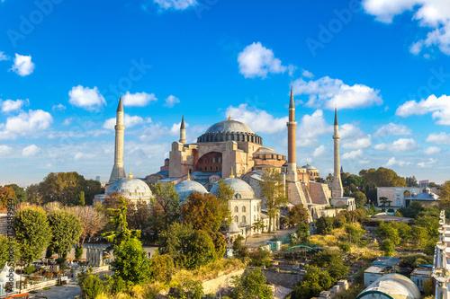 Valokuvatapetti Hagia Sophia in Istanbul, Turkey