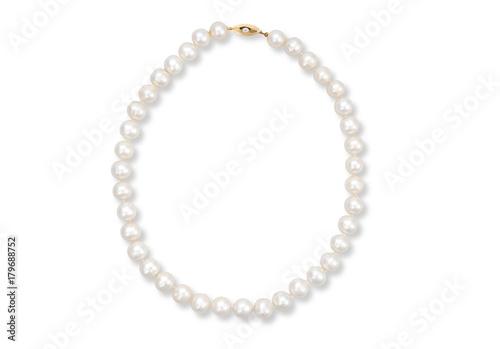 Canvas Print pearl bracelet