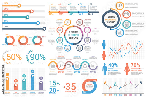 Fotografia Infographic Elements