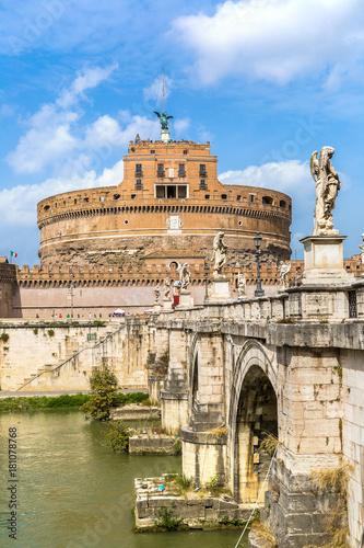 Fotografia Castel Sant Angelo in Rome