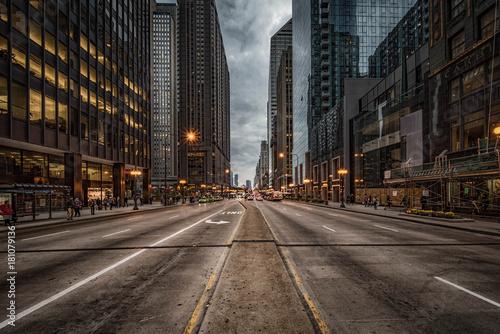 Michigan Avenue Fototapeta