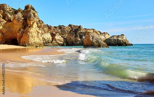 Waves of Atlantic Ocean
