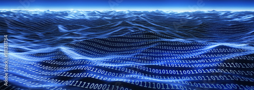 Photo Meer an Daten - Datenflut