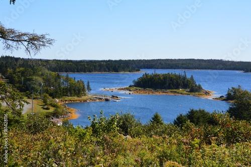 Canvas Print Cape Breton Island Nova Scotia seashore