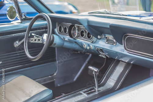 Wallpaper Mural Classic Mustang interior