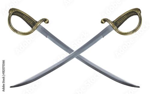 Slika na platnu two sabers