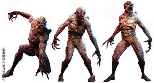 Canvas Print Mutant horrors