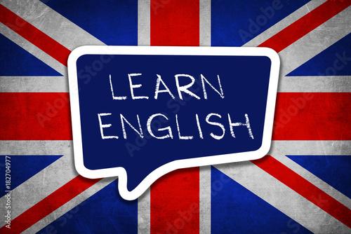 Canvas Print Learn English Language