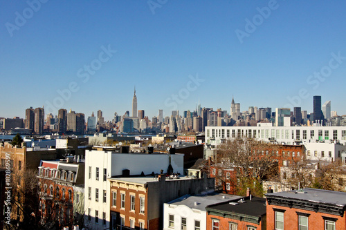 Wallpaper Mural Brooklyn Skyline