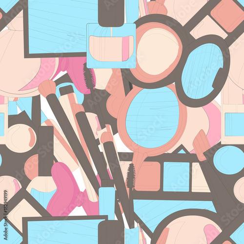 z-tlem-z-abstrakcyjnie-zilustrowanych-kosmetykow