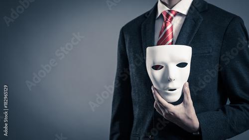 Canvas 仮面とビジネスマン