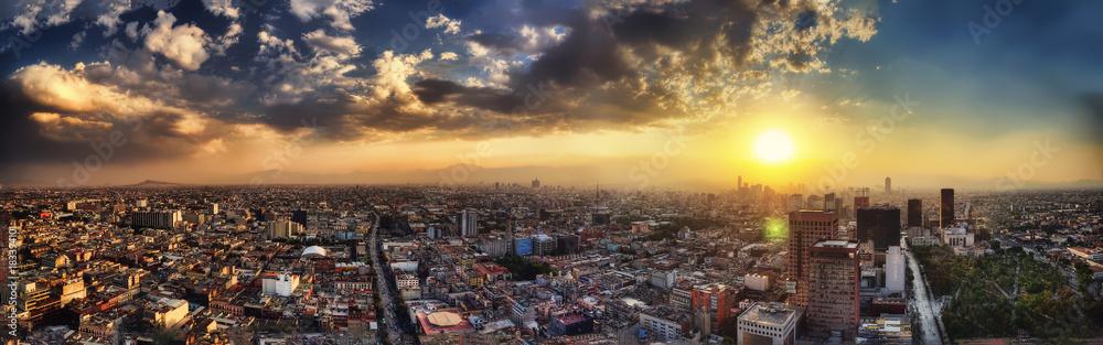 Mexico City Aerial