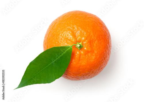 Mandarine Isolated on White Background