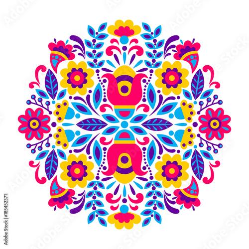 Fototapeta geometric ethnic decoration