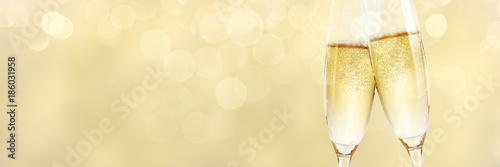 Fotografia Champagner zum Fest