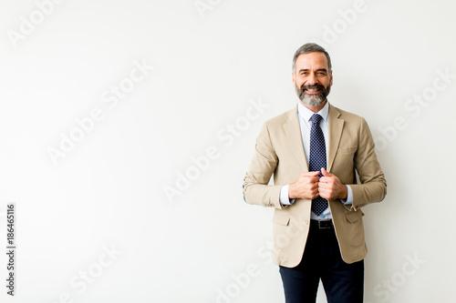 Wallpaper Mural Portrait of senior businessman