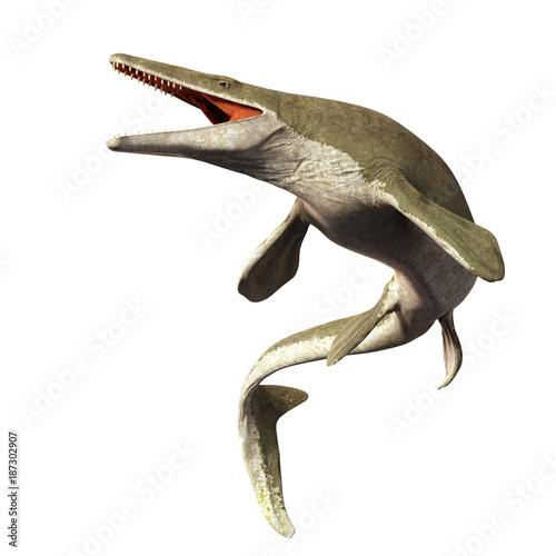 Платно Mosasaurus, 17m aquatic lizard, between 70 and 66 million years ago