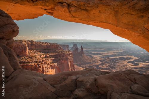 Mesa Arch, Canyon lands Fototapeta