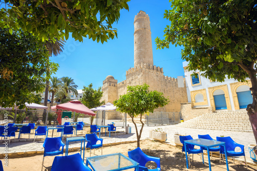 Slika na platnu Ancient fortress with high tower. Sousse, Tunisia, North Africa