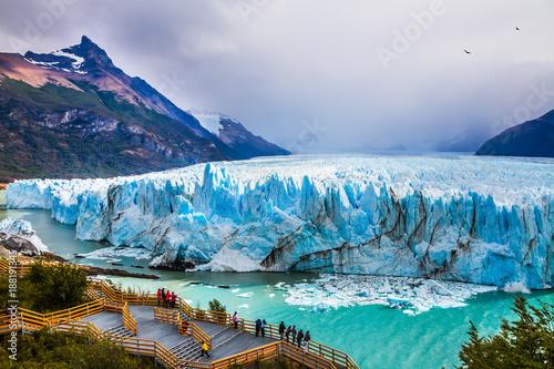 Stampa su Tela Glacier Perito Moreno in the Patagonia