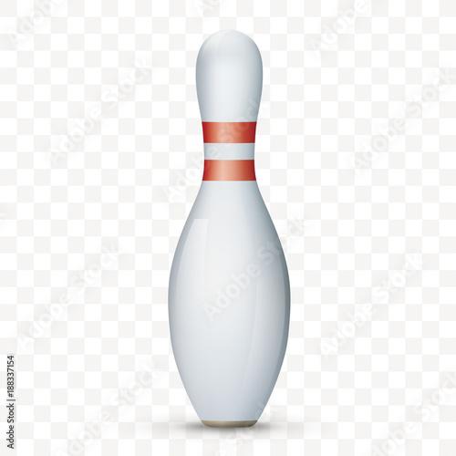 Fotomural Bowling Pin Transparent