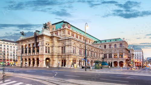 Fototapeta premium Opera Wiedeńska, Austria